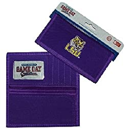 NCAA LSU Fightin Tigers Ladies Wallet with Checkbook Holder