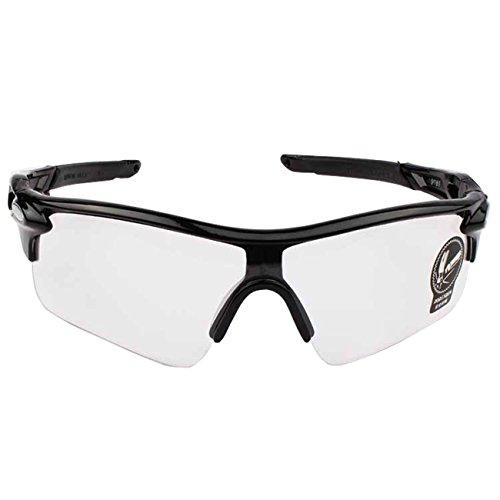 Aikesi 1 pc Sonnenbrillen für Männer Fashion Sportbrillen UV400 Schutz Radbrille für Fahrrad Golf Angeln Baseball (weiß)
