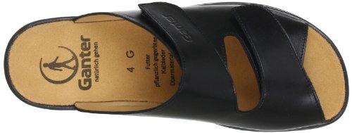 Ganter Monica, Weite G 5-202501-01000, Sandali donna Nero (Schwarz (schwarz 0100))