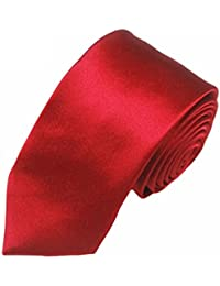 Mivera Premium Solid Color Necktie , Slim Neck Tie For Men, 2inch Width, Formal Neck Tie, Skinny Neck Tie For...