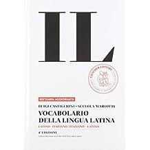 Vocabolario della lingua latina + Guida.