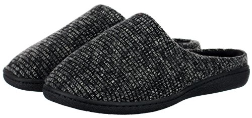 Brandsseller, Pantofole uomo Grau