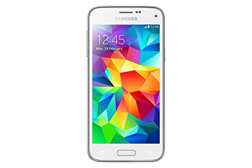 Samsung Galaxy S5 Mini-Smartphone Android entsperrt (Display 4,5/Kamera 8 Megapixel 16 GB Quad-Core 1,4 GHz 1,5 GB RAM) - Galaxy S5 Entsperrt Gb 16