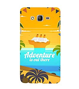 Adventure Is Out There 3D Hard Polycarbonate Designer Back Case Cover for Samsung Galaxy On5 :: Samsung Galaxy On 5 G550FY