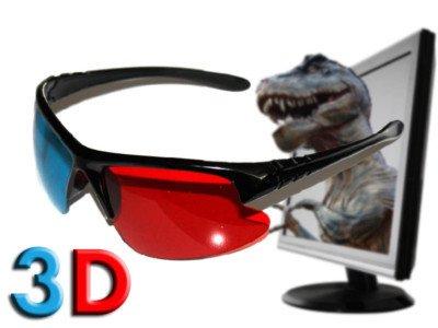 Oramics 3D Brillen im 6er Pack 6x Brille Anaglyphenbrille Cyan Kino Brille (Dvd Set Romantik)