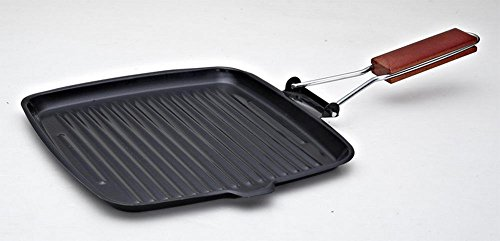 Acciaio al carbonio antiaderente bistecca padella (Acciaio Inossidabile Rettangolare Pan)