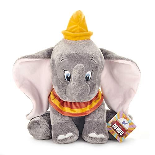 Disney 37277 Dumbo - Peluche de Elefante, 35 cm, Color Gris