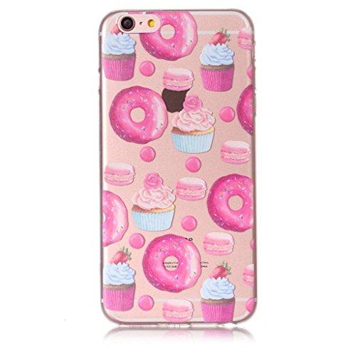 Per iPhone 6 Plus / iPhone 6S Plus Cover , YIGA Unicorno dellaerostato Trasparente Silicone Morbido TPU Case Shell Protezione Custodia per Apple iPhone 6 Plus / iPhone 6S Plus (5,5) XY19