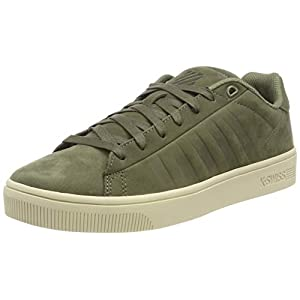 K-Swiss Herren Court Frasco Turnschuh, Zinn Patriot Blue, 45 EU