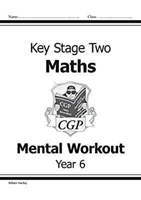 KS2 Mental Maths Workout - Year 6 (CGP KS2 Maths) from Coordination Group Publications Ltd (CGP)