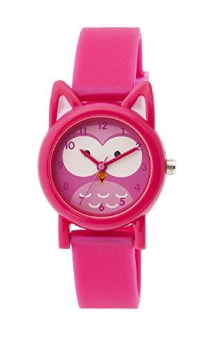 Tikkers TK0092–Uhr, Gummi-Armband Rosa