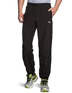 Puma Men's Jogging Bottoms Woven Closed black Size:S