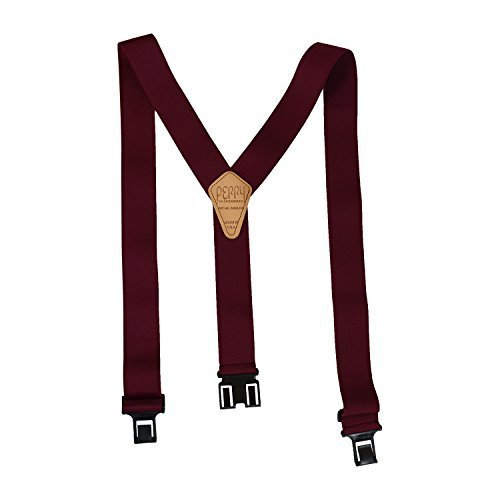 Original Belt Perry Suspenders Clip-On Suspender - All Colors Sizes & Widths