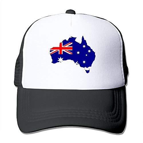 mfsore Australien-Flaggen-Unisexmänner und justierbare Baseballmütze der Frauen Mützen Fernlastfahrer-Kappen