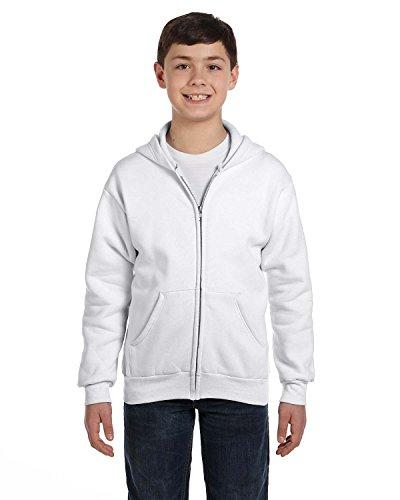 Boys Hanes Comfortblend EcoSmart Full-Zip Kids' Hoodie Sweatshirt