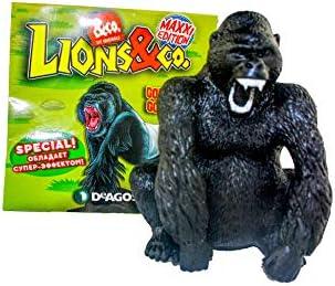Lions & Co. Maxxi Maxxi Maxxi Edition - Gorilla Gorilla | Mode Attrayant  b5ea85