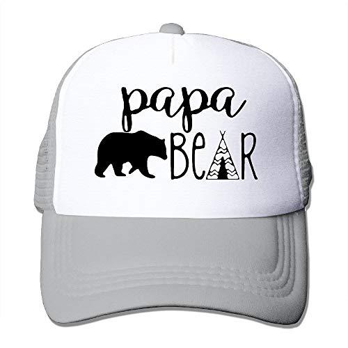 Papa Bear Infant Custom Trucker Hat One Size Fits Most Dancing Mesh Cap Adjustable - Irish Dancing Kostüm