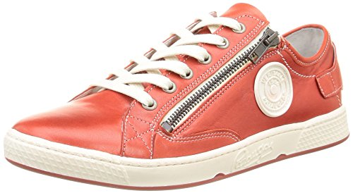 Pataugas Jester N F2b, Baskets Basses Femme Rouge