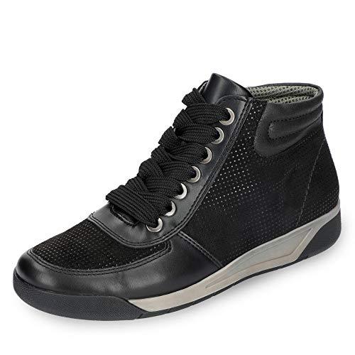 cheapest price amazon aliexpress JENNY by ara Seattle Women's Sneaker Black, tamaño:40