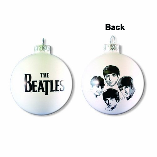 Beatles - Weihnachtskugel Early Years Image (in 80 mm)