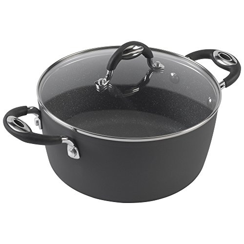 Bialetti 07552 Impact Bratpfanne 5 quart dutch oven grau 5 Quart Dutch Oven
