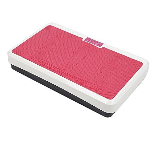 flyelf Sportstech Profi Vibrationsplatte Home Vibration Plate (Pink)