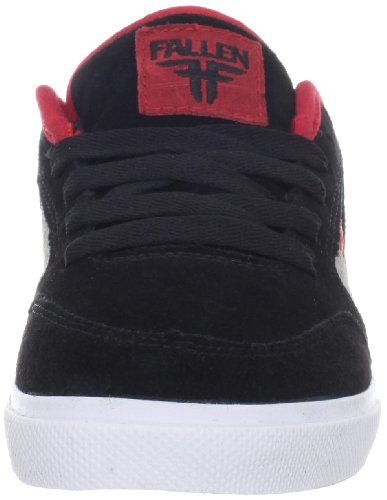 Fallen  CLIPPER Kids, Chaussures mixte bébé Noir (Schwarz (black/cement grey/blood red))
