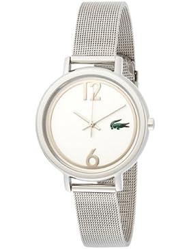 Lacoste Damen-Armbanduhr Analog Quarz Edelstahl 2000538