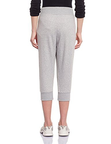 adidas Track Pantacourt Femme Medium Grey Medium Grey Heather