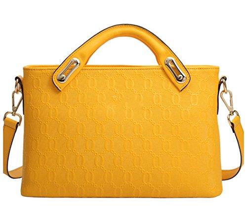 Mme Sacs à Main En Cuir yellow