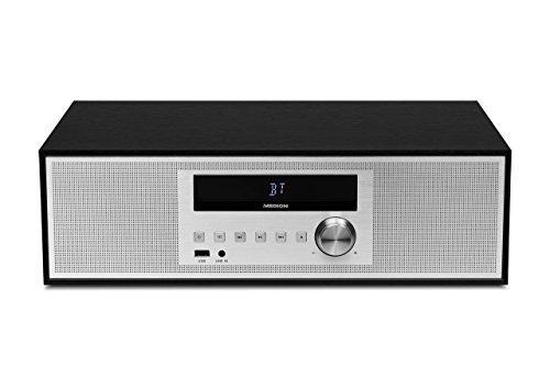 MEDION LIFE P64301 MD 43301 Kompaktanlage (CD, USB, Bluetooth, Radio, PLL UKW, RDS, AUX-In) schwarz