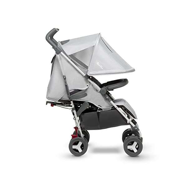Silver Cross Reflex Stroller, Platinum Silver Cross Reflex is an advanced stroller, suitable from birth up to 25kg, with a wealth of features 5-point Harness Combine with Silver Cross Simplicity Car Seat to create a convenient Travel System 3