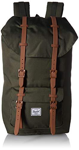 Herschel Little America Backpack 49.5 cm darkm Olive/Saddle Brown
