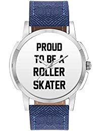 Wrist Watch For Men - Proud To Be A Roller Skater Best Gift For ROLLER SKATER - Analog Men's And Boy's Unique...