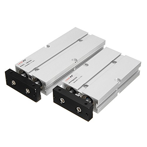 Double Rod Cylinder (ChaRLes Tn20X50/Tn20X80 20Mm 20Mm 20Mm Bore 50/80Mm Stroke Double Rod Pneumatic Air Cylinder Double Acting - 20x80)