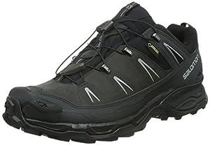 Salomon X Ultra LTR GTX, Herren Trekking- & Wanderhalbschuhe, Grau (Asphalt/Black/Pewter), 42 EU (8 Herren UK)