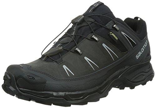 Salomon X Ultra LTR GTX, Herren Trekking- & Wanderhalbschuhe, Grau (Asphalt/Black/Pewter), 42 2/3 EU (8.5 Herren UK)
