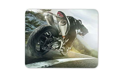 Fantastische Straße Radfahrer Mauspad Pad - Speed   Demon Road Trip Motorrad # 14653 (Motorrad Trip Road)