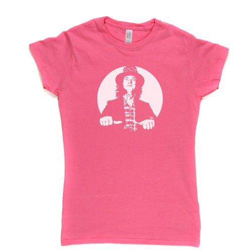 Noddy Portrait Womens Fitted T-Shirt Rosa