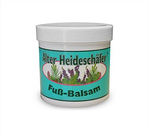 Fuß-Balsam erfrischt und belebt nachhaltig beanspruchte Füße, Pflanzenextrakte aus Eukalyptus, Kamille, Salbei, Melisse, Schachtelhalm, Rosmarin, Eibisch und Hauhechel