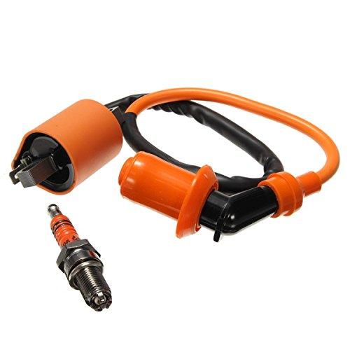 Preisvergleich Produktbild JenNiFer Zündung Coil 3-Electrode Spark Plug Cg125 150 200 250 / Cb Cbd Für ATV Motorcycle Racing Performance