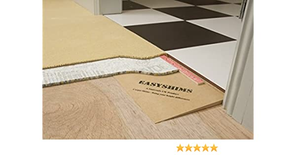 eXtreme® Carpet Shims - Solves The Difference in Flooring Heights In Doorways - 15mm Height: Amazon.co.uk: Kitchen & Home