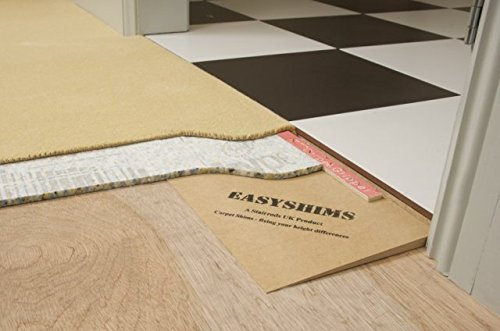 eXtreme® Carpet Shims - Solves The Difference in Flooring Heights In Doorways - 9mm Height