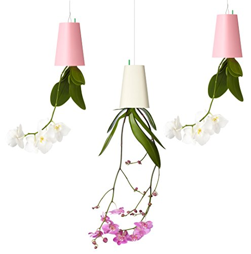 Sky Planter Recycled Small Pink/White/Pink, 3er Set