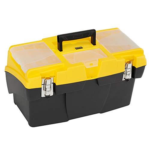 STANLEY 1-92-911 - Caja de herramientas con cierres metalicos / 48 cm