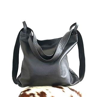 41Lv7PBSmsL. SS324  - Bolso mochila cuero mujer artesanía italiana