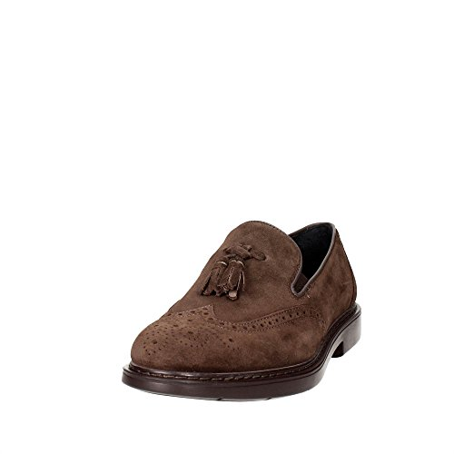Ecco Enrico, Sneakers Basses Homme - Marron - Brown (camel/whisky59518), 43