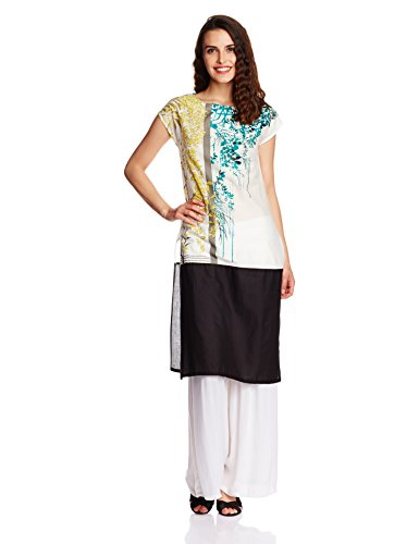 W for Woman Women's Straight Kurta (16FE15541-57015_Multi Color_14)  available at amazon for Rs.1099