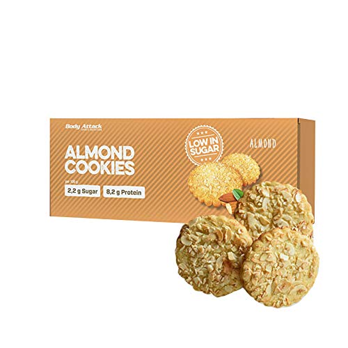 Body attack low carb cookies 115g cookies almond