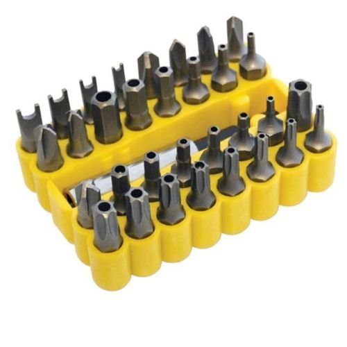 33pc-destornillador-bit-set-herramienta-de-soporte-para-taladro-torx-hex-en-amarillo-funda